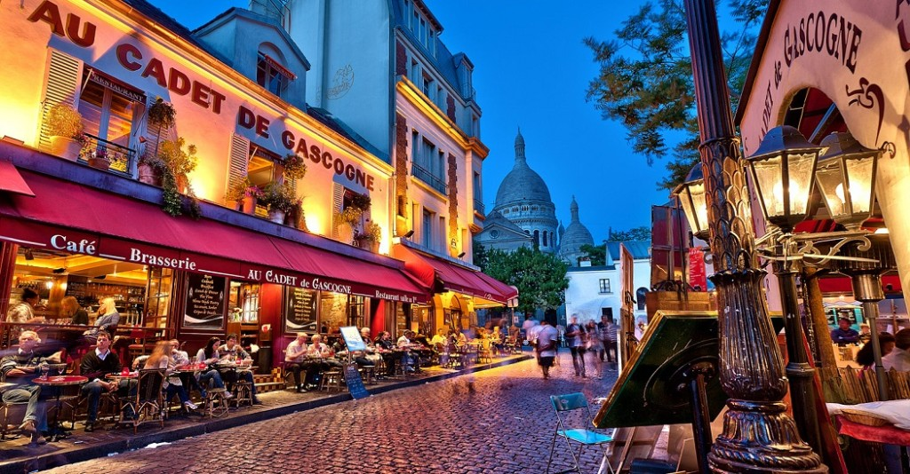 vedere a Montmartre