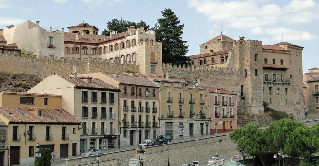 vedere a Segovia