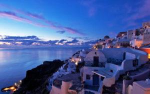 vedere il tramonto a Santorini